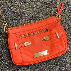 Kate Landry Orange crossbody w/ removable strap